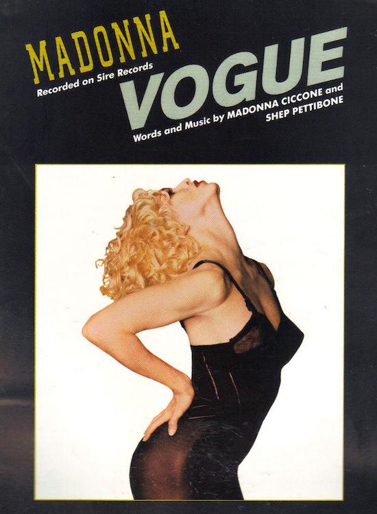 Vogue Madonna Single
