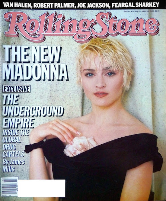 rolling stone today in madonna history