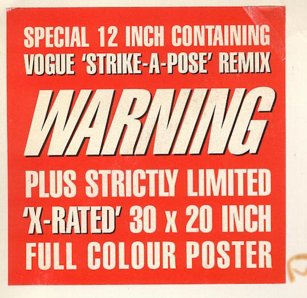 vogue-x-rated-promo-poster-12-inch-single-7