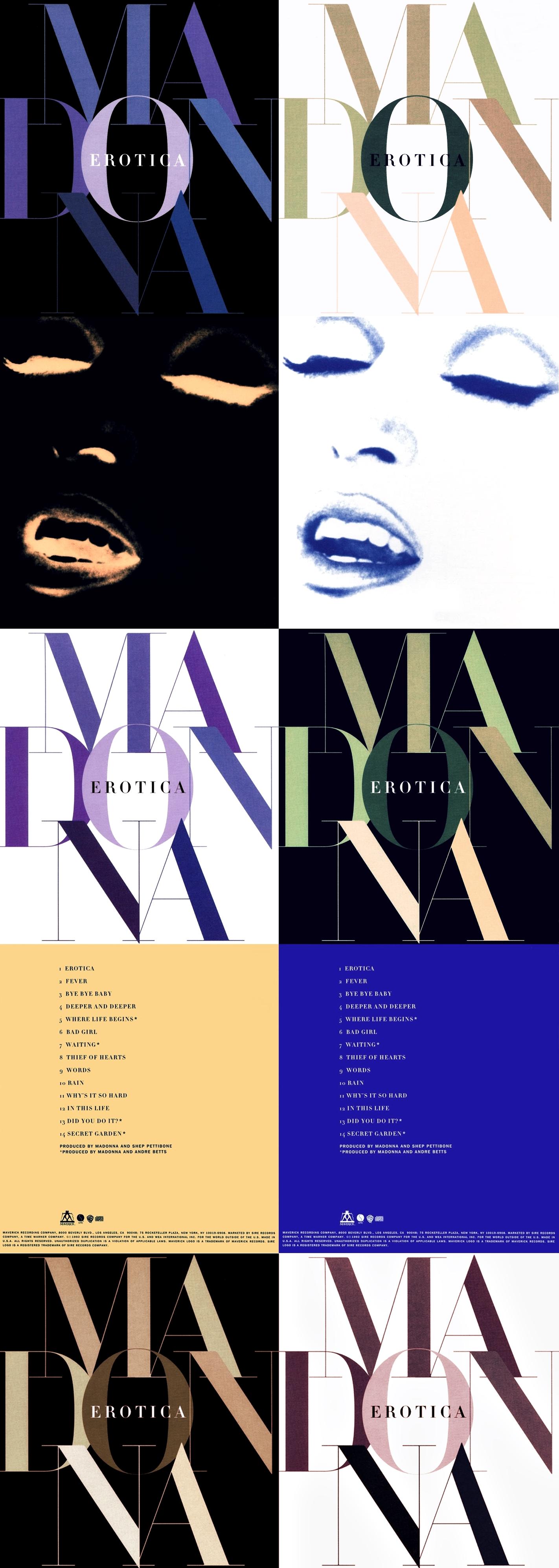 Erotica Album Today In Madonna History