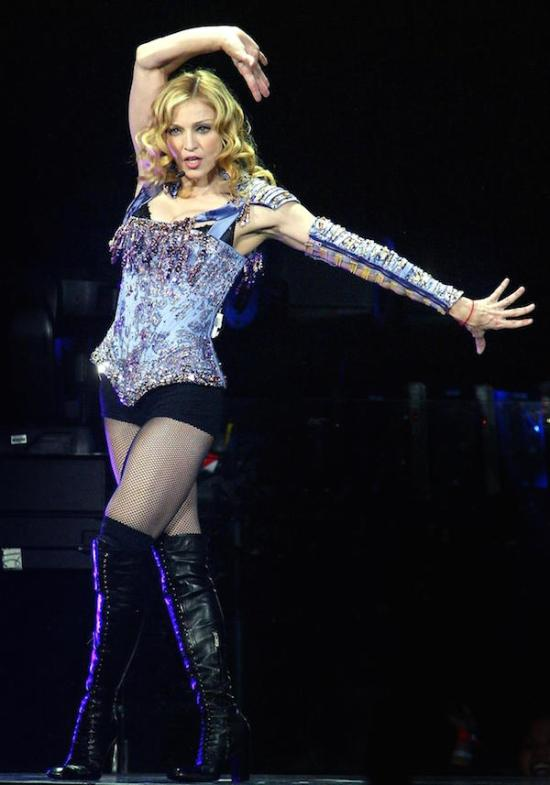 Madonna Nobody Knows Me Reinvention Tour